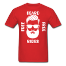 Free Beard Rides T-Shirt - BeardedMoney