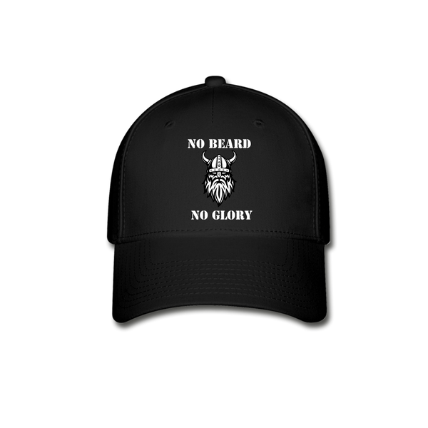 No Beard No Glory Baseball Cap - BeardedMoney