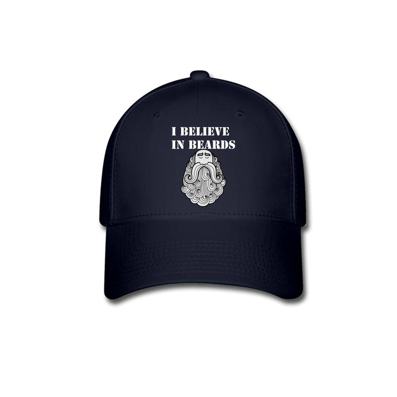 I believe In Beards Baseball Cap - bearded-money