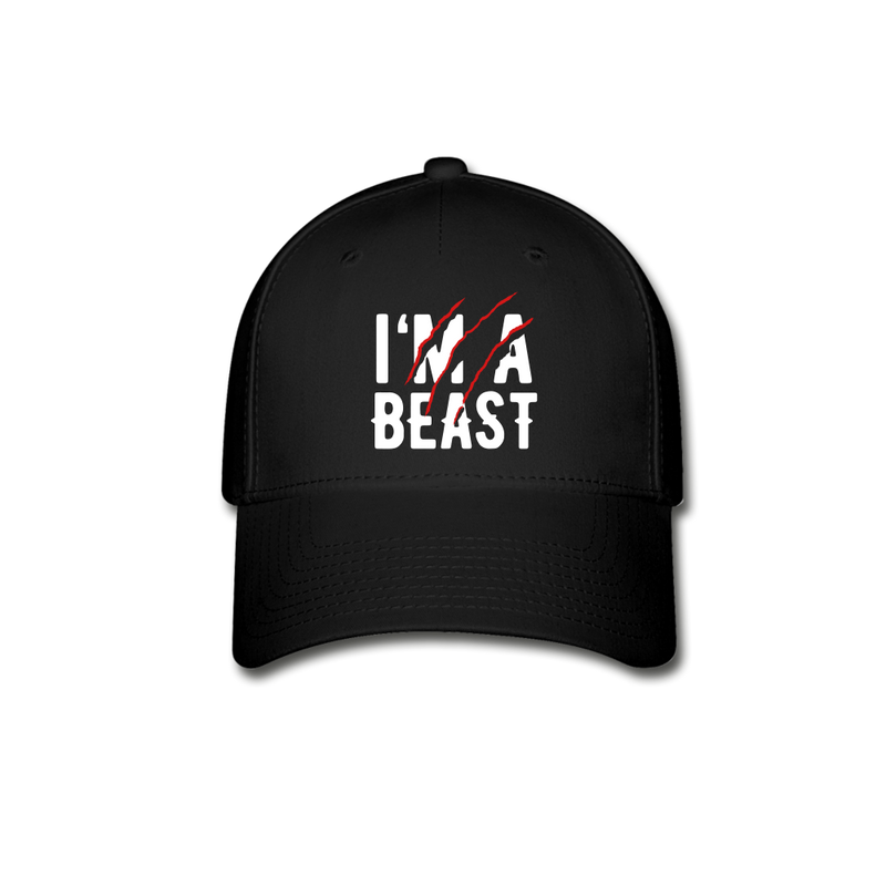 I'm a Beast Cap - bearded-money