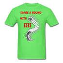 Share A Round With ISIS T-Shirt - BeardedMoney