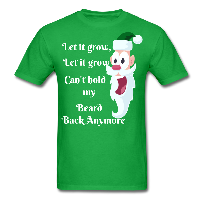 Let It Grow, Let It Grow Men's T-Shirt - bright green