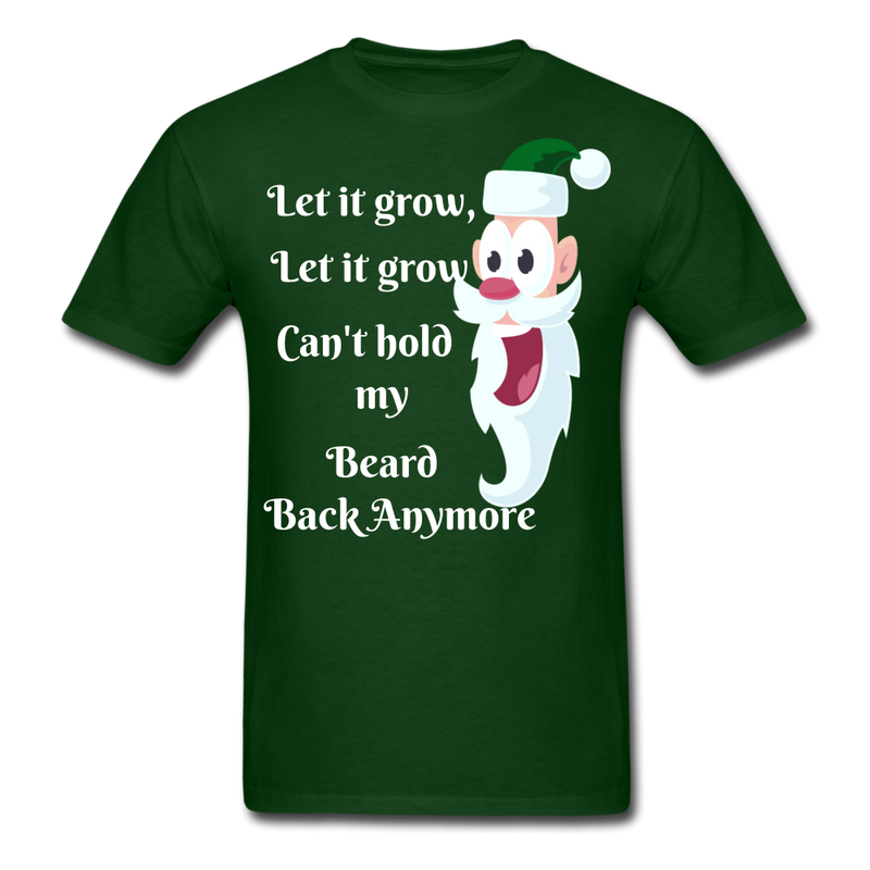 Let It Grow, Let It Grow Men's T-Shirt - forest green