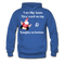 I am Like Santa Nice Beard On Top Men's Hoodie - royal blue