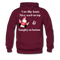 I am Like Santa Nice Beard On Top Men's Hoodie - burgundy