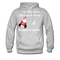 I am Like Santa Nice Beard On Top Men's Hoodie - heather gray