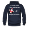 I am Like Santa Nice Beard On Top Men's Hoodie - navy