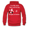 I am Like Santa Nice Beard On Top Men's Hoodie - red