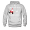 I am Like Santa Nice Beard On Top Men's Hoodie - ash