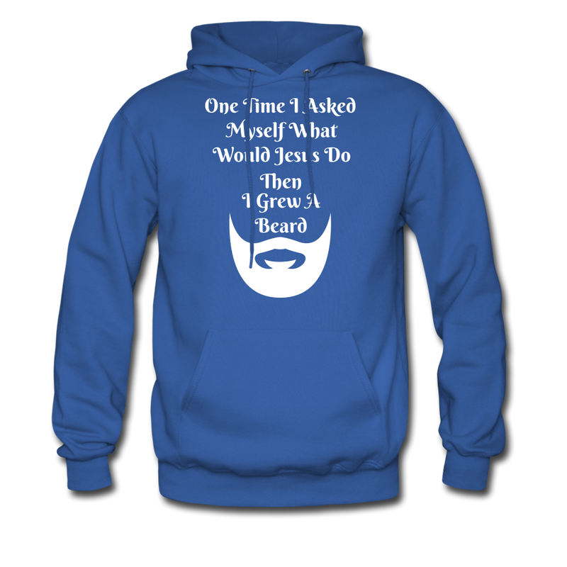 One Time, I asked Myself What Would Jesus Do Men's Hoodie - BeardedMoney