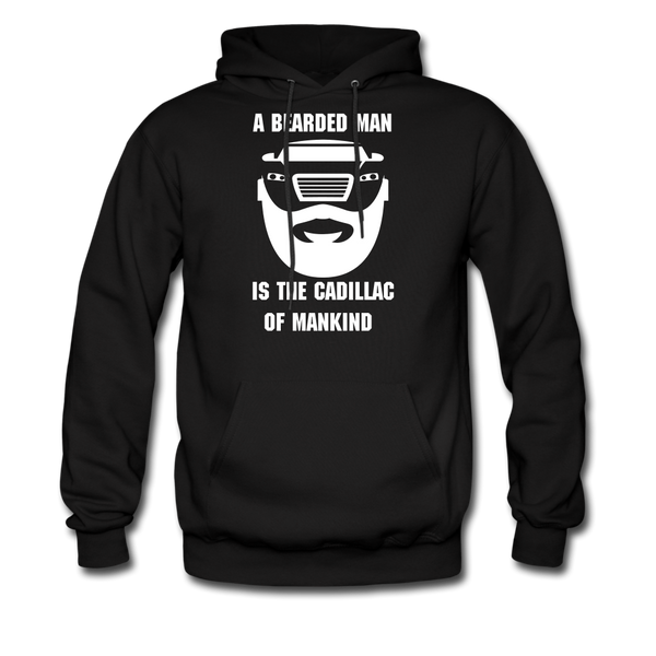 A Bearded Man Is The Cadillac Of Mankind Men's Hoodie - BeardedMoney