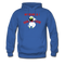 My Beard & I Hang In There Men's Hoodie - royal blue