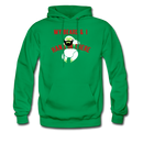 My Beard & I Hang In There Men's Hoodie - kelly green