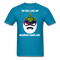 Do You Like My Bearded Eggplant Men's T-Shirt - turquoise