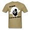 My Beard Is Out Of This World Men's T-Shirt - khaki