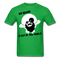 My Beard Is Out Of This World Men's T-Shirt - bright green