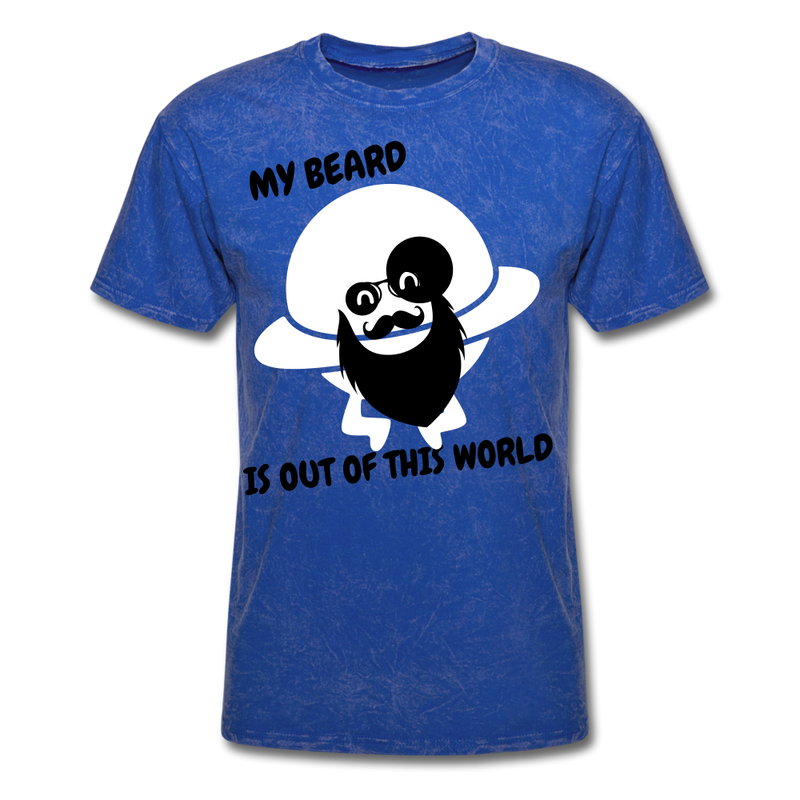 My Beard Is Out Of This World Men's T-Shirt - mineral royal
