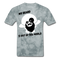 My Beard Is Out Of This World Men's T-Shirt - grey tie dye