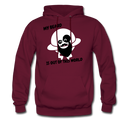My Beard Is Out Of This World Men's Hoodie - burgundy