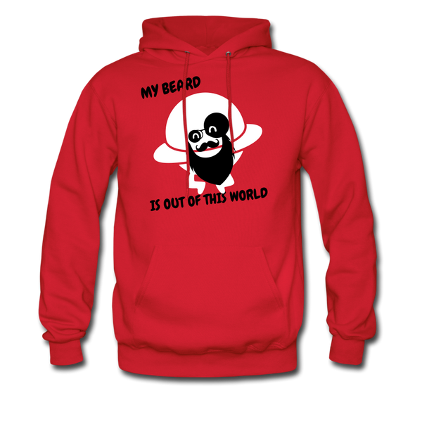 My Beard Is Out Of This World Men's Hoodie - BeardedMoney