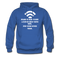 Bearded Man Is Like A Coffee Shop With WIFI Men's Hoodie - royal blue