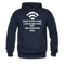Bearded Man Is Like A Coffee Shop With WIFI Men's Hoodie - navy