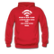 Bearded Man Is Like A Coffee Shop With WIFI Men's Hoodie - red