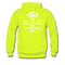 Bearded Man Is Like A Coffee Shop With WIFI Men's Hoodie - safety green