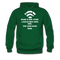 Bearded Man Is Like A Coffee Shop With WIFI Men's Hoodie - forest green