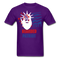 Bearded Patriot Men's T-Shirt - purple