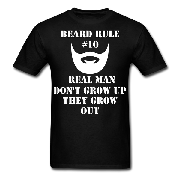 Beard Rule #10 Men's T-Shirt - BeardedMoney