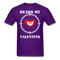 Beard My Valentine Men's T-Shirt - purple