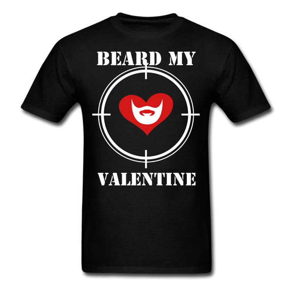 Beard My Valentine Men's T-Shirt - BeardedMoney