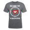 Beard My Valentine Men's T-Shirt - mineral charcoal gray