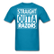 Straight Outta Razors T-Shirt - BeardedMoney