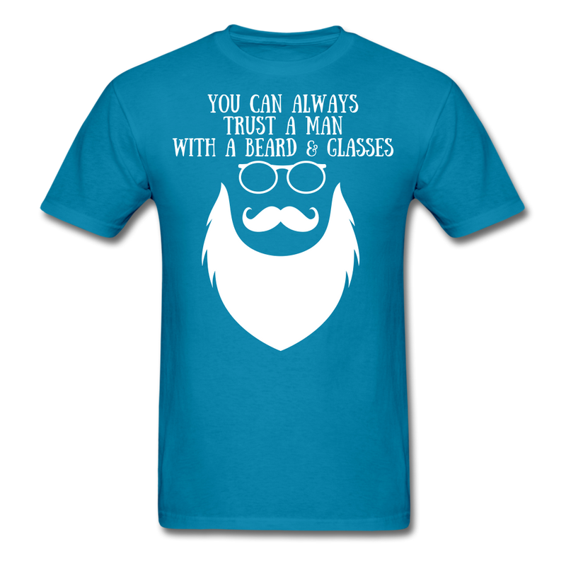 You Can Always Trust A Man With A Beard & Glasses. - BeardedMoney