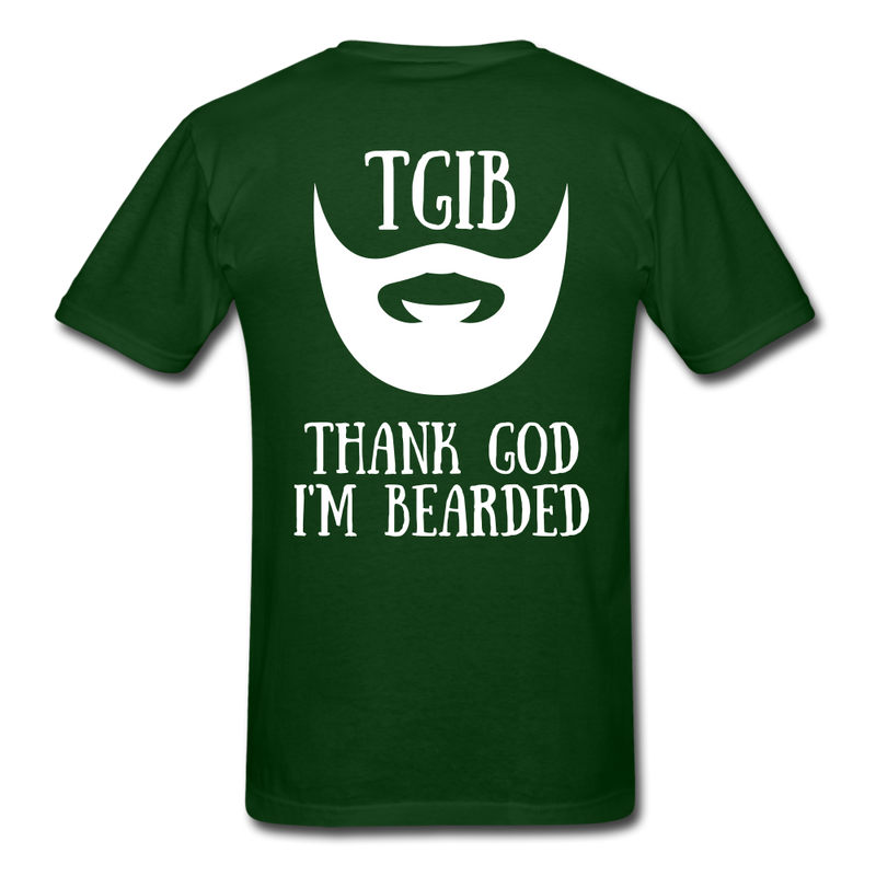 TGIB, Thank God I'M Bearded T-Shirt - BeardedMoney