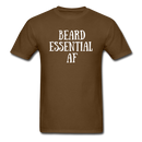 Beard Essential AF Men's T-Shirt - brown