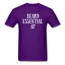 Beard Essential AF Men's T-Shirt - purple