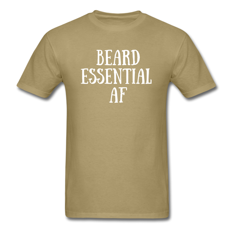 Beard Essential AF Men's T-Shirt - khaki