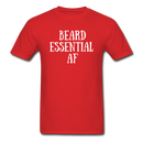 Beard Essential AF Men's T-Shirt - red