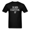 Beard Essential AF Men's T-Shirt - black