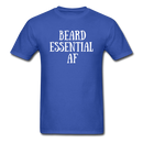 Beard Essential AF Men's T-Shirt - royal blue