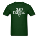 Beard Essential AF Men's T-Shirt - forest green