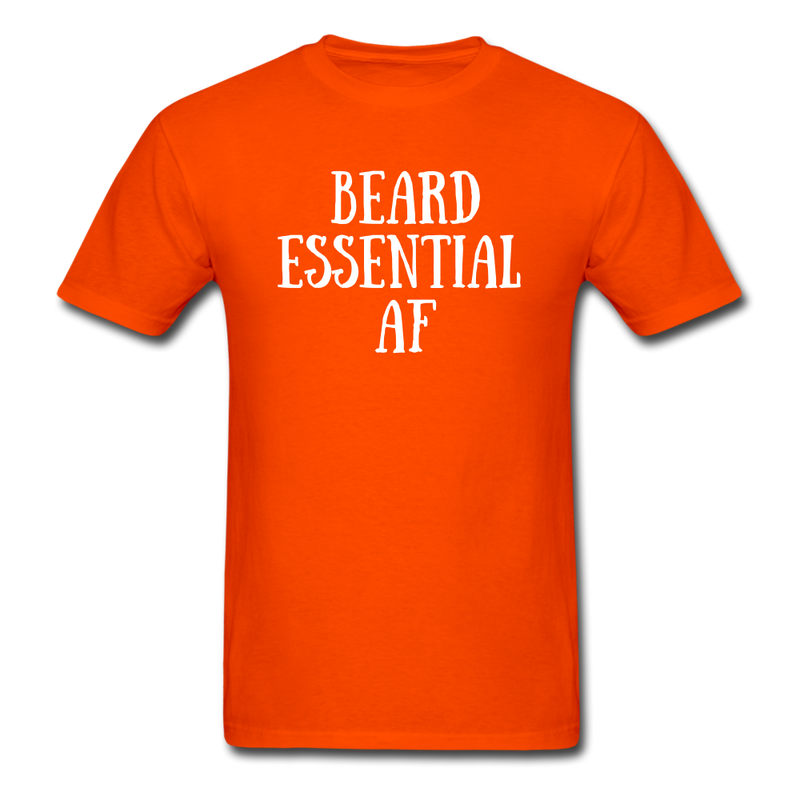 Beard Essential AF Men's T-Shirt - orange