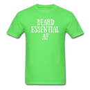 Beard Essential AF Men's T-Shirt - kiwi