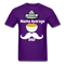 Nacho Average Dad Men's T-Shirt - purple