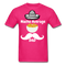 Nacho Average Dad Men's T-Shirt - fuchsia