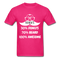 30% Donuts, 70% Beard, 100 Awesome Men's T-Shirt - fuchsia