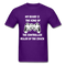My Beard Is The King Of The Controller, Ruler Of the Couch Men's T-Shirt - purple